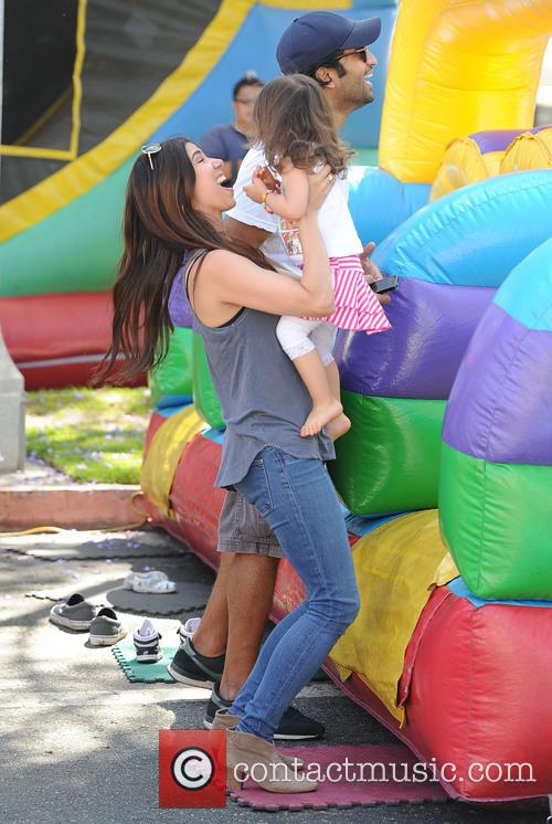 Roselyn Sanchez and Sebella Rose Winter 7