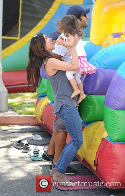 Roselyn Sanchez and Sebella Rose Winter 8