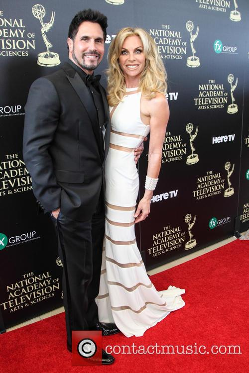 Cindy Ambuehl and Don Diamont 2