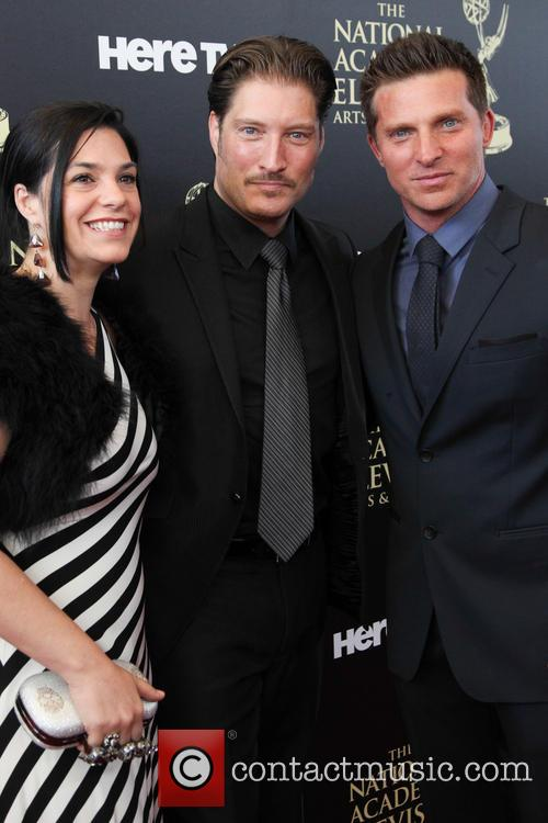 Michele Vega, Sean Kanan and Steve Burton