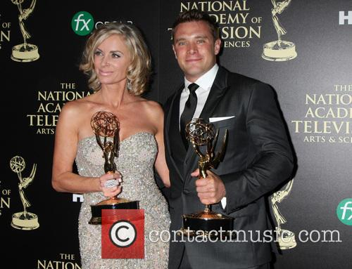 Eileen Davidson and Billy Miller 2