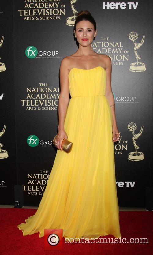 Elizabeth Hendrickson, Beverly Hilton Hotel, Daytime Emmy Awards, Emmy Awards