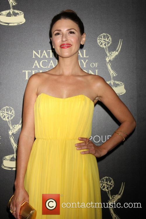 Elizabeth Hendrickson, Beverly Hilton Hotel, Daytime Emmy Awards, Emmy Awards
