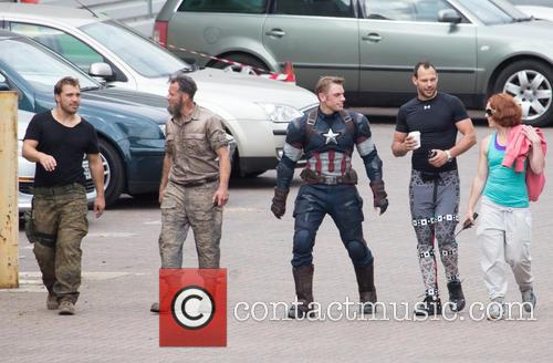 Avengers and Captian America Stunt Double 3
