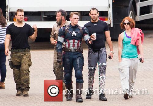 Avengers and Captian America Stunt Double 5