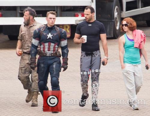 Avengers and Captian America Stunt Double 6