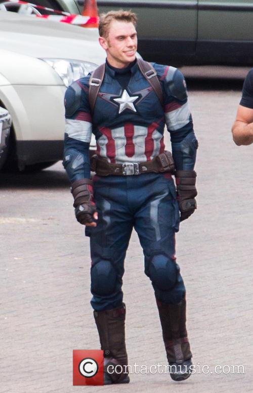 Avengers and Captian America Stunt Double 7