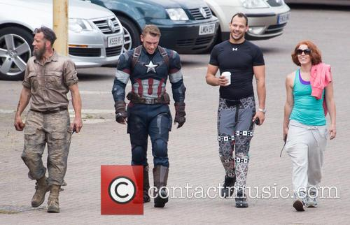 Avengers and Captian America Stunt Double 9