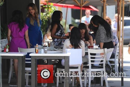 Kim Kardashian, Kourtney Kardashian and Khloe Kardashian 2