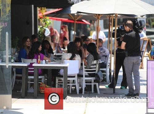 Kim Kardashian, Kourtney Kardashian, Khloe Kardashian, West Hollywood