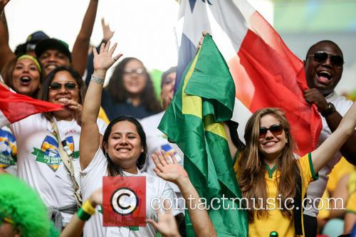 Fifa World Cup, Cameroon, Brazil and Atmosphere 4