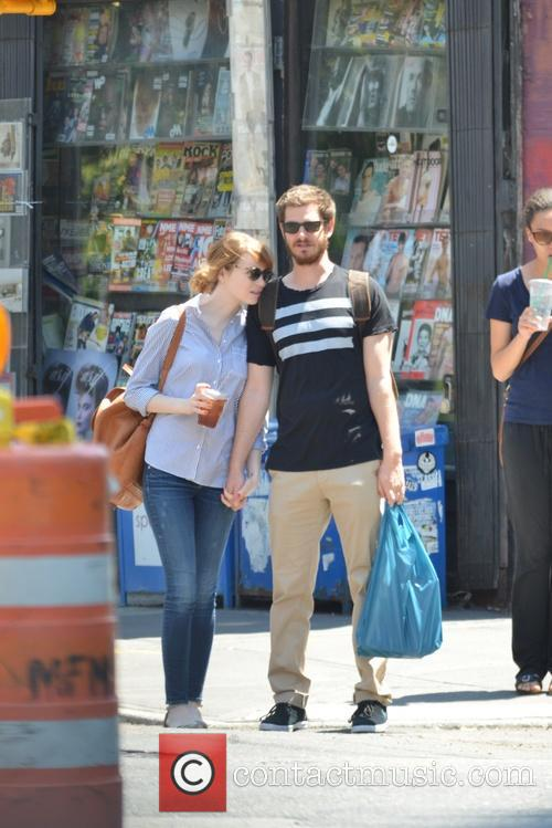 Emma Stone and Andrew Garfield 7