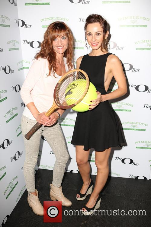 Celebrities attend the launch of Centre Court