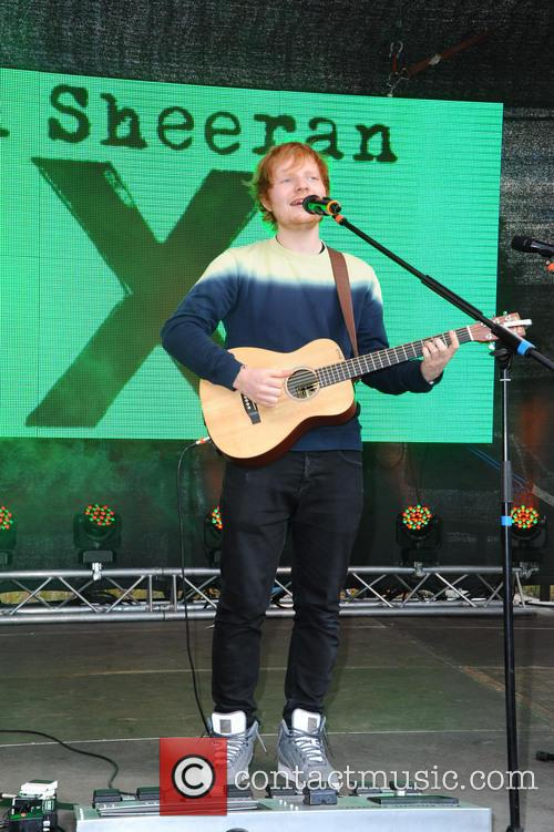 Ed Sheeran, Alexa shopping mall
