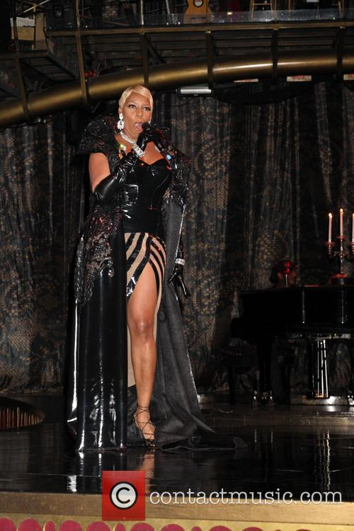 NeNe Leakes At Zumanity Show Rehersals