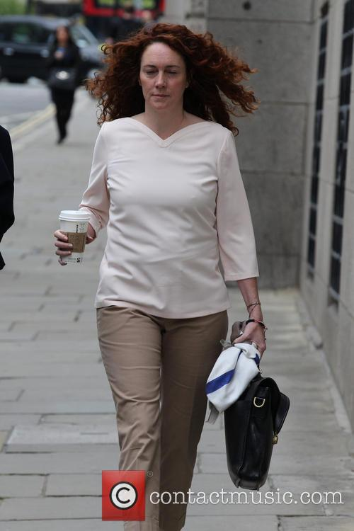 Rebekah Brooks arriving at the Old Bailey to...