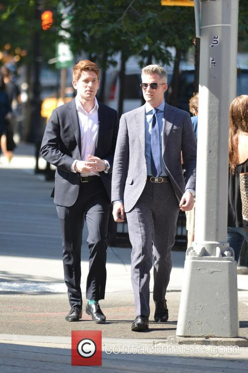 Ryan Serhant out in TriBeCa