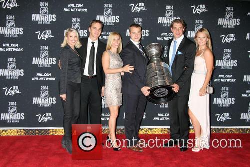 2014 NHL Awards Red Carpet