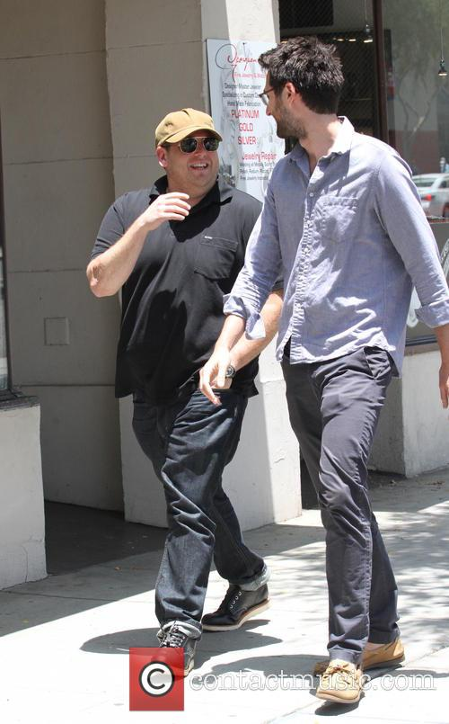 Jonah Hill and friend 2