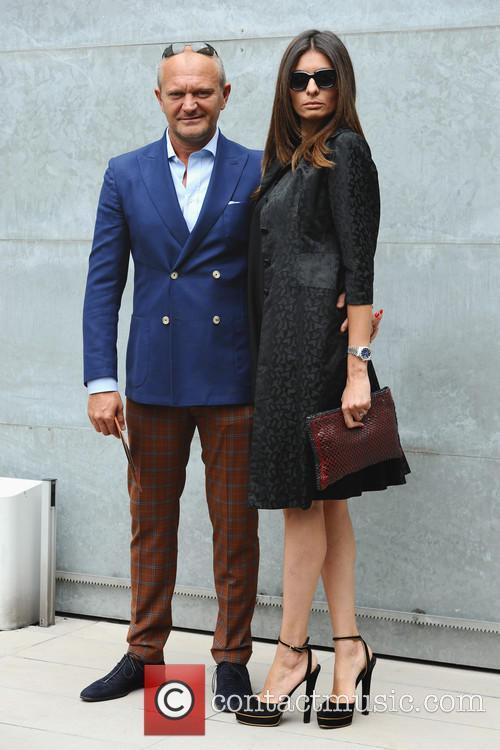 Giorgio Armani and Andrea Pucci 9
