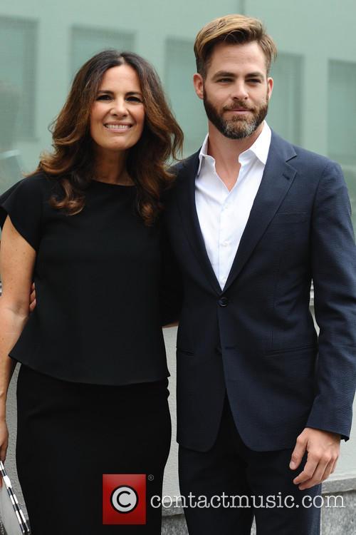 Roberta Armani and Chris Pine 1