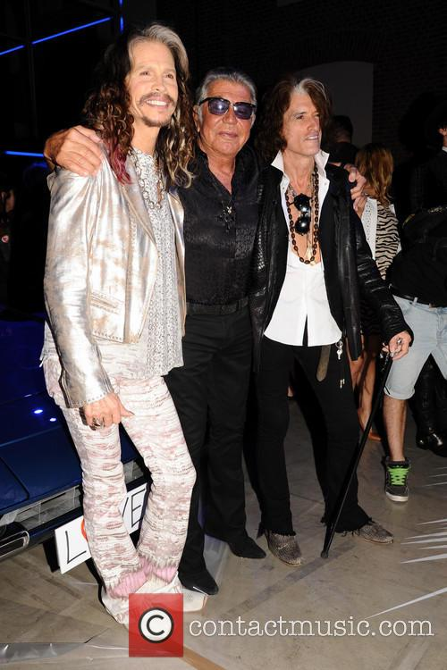 roberto cavalli steven tyler joe perry milan fashion week 4258283