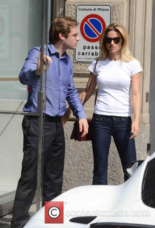 Michelle Hunziker and Tomaso Trussardi 5