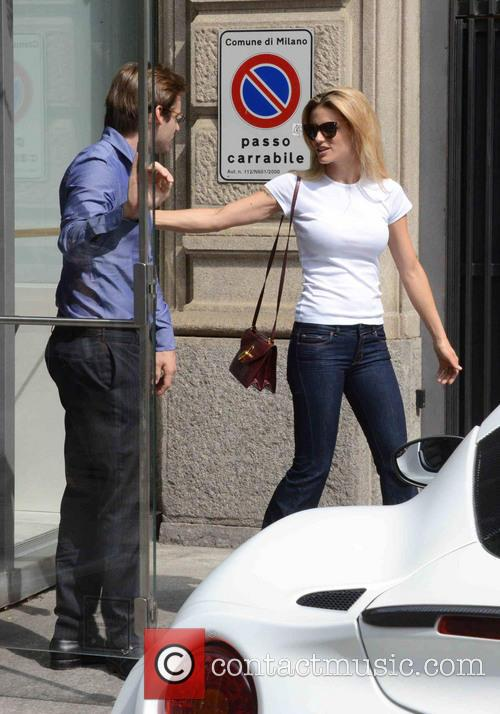 Michelle Hunziker and Tomaso Trussardi 9