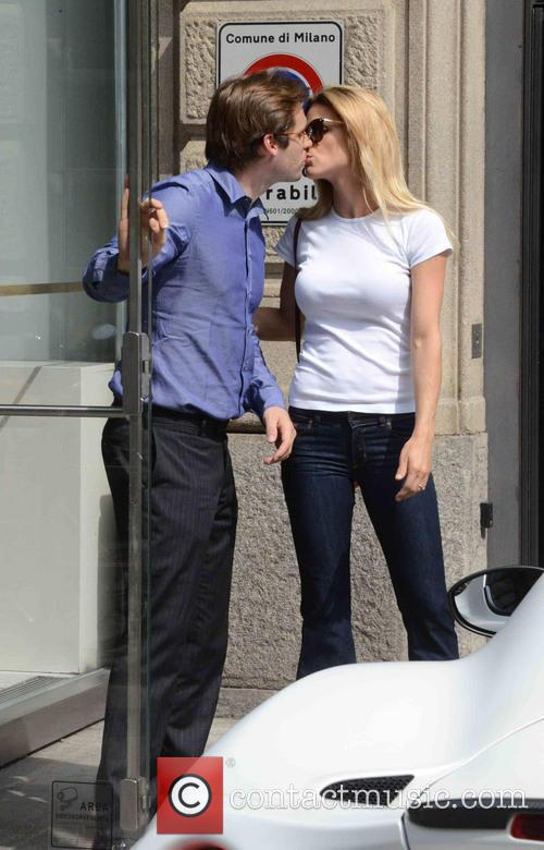 Michelle Hunziker and Tomaso Trussardi 11