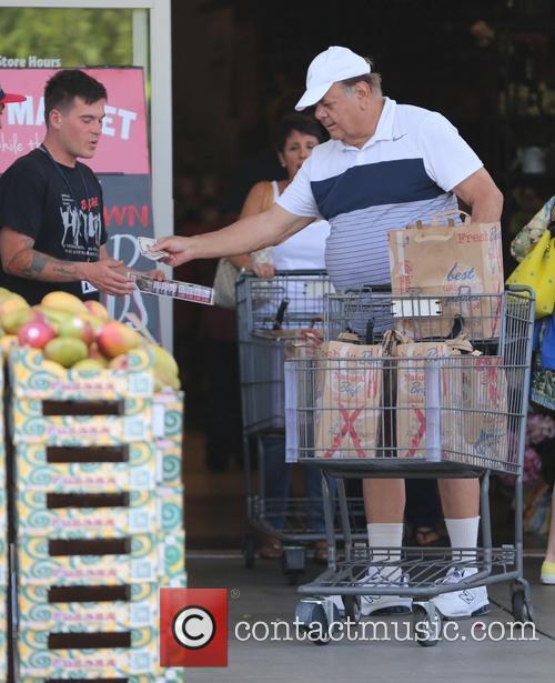 Paul Sorvino shopping at Bristol Farms