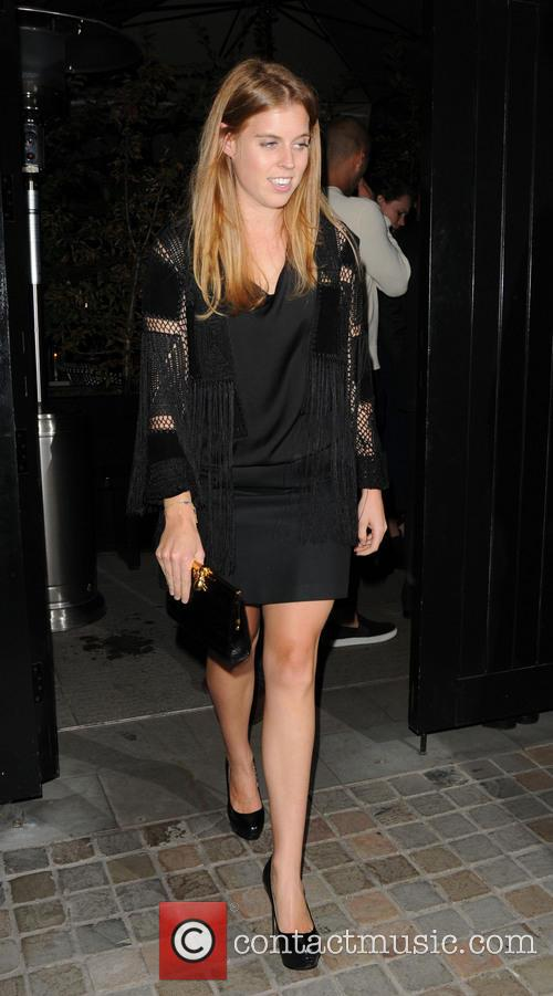 princess beatrice celebrities at chiltern firehouse restaurant 4258191