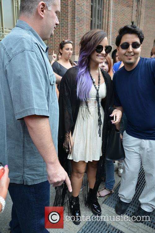 Demi Lavato out and about in Soho