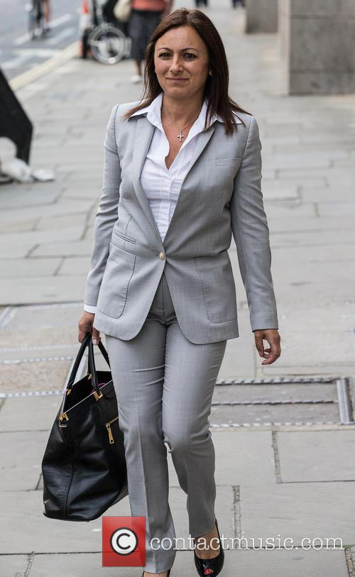 Arrivals at the Old Bailey