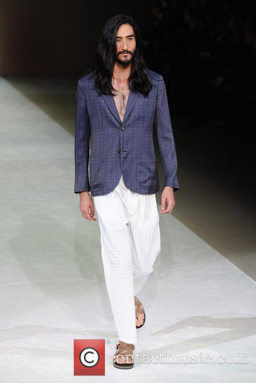 Milan Fashion Week Menswear, Spring, Summer and Giorgio Armani 7