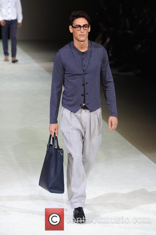 Milan Fashion Week Menswear, Spring, Summer and Giorgio Armani 8
