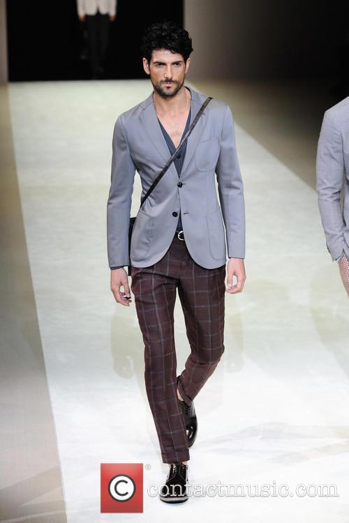Milan Fashion Week Menswear, Spring, Summer and Giorgio Armani 9