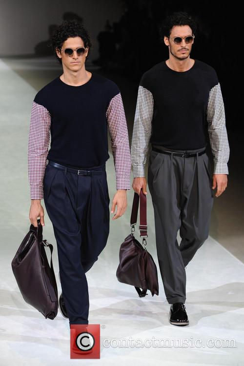 Milan Fashion Week Menswear, Spring, Summer and Giorgio Armani 1
