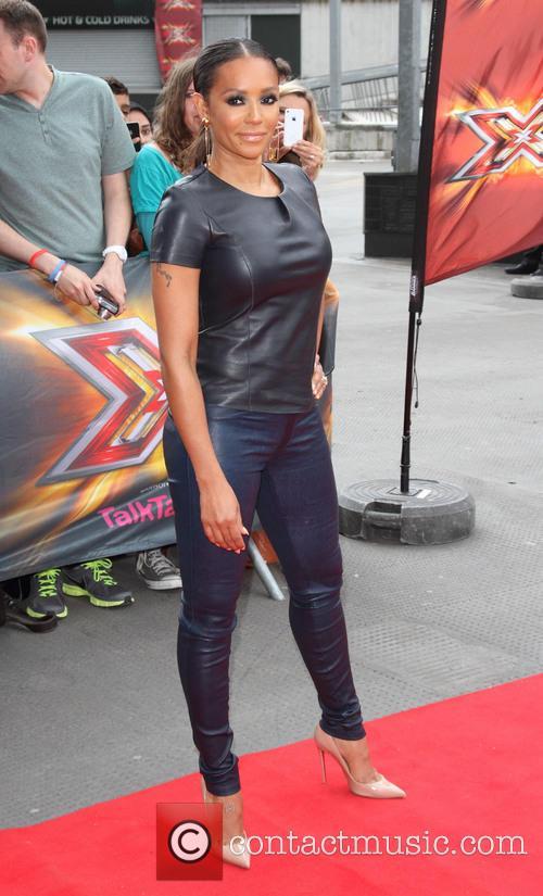 Mel B, Emirates Stadium, The X Factor