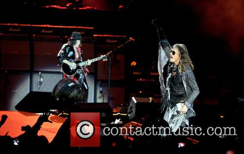 Steven Tyler, Joe Perry and Aerosmith 4