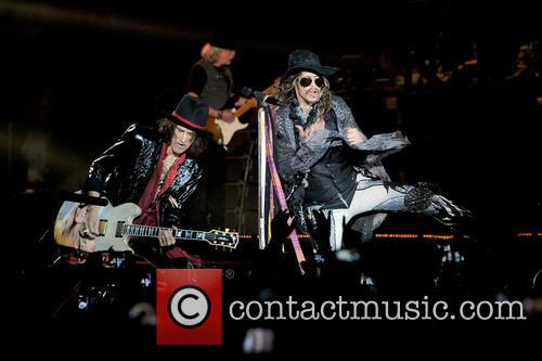 Steven Tyler, Joe Perry and Aerosmith 8