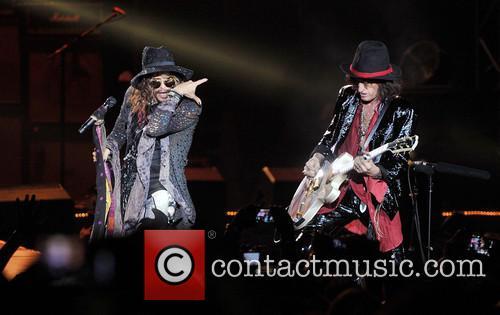 Steven Tyler, Joe Perry and Aerosmith 12