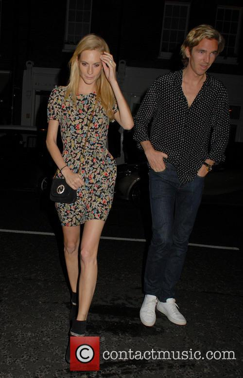 Celebrities at the Chiltern Firehouse in Marylebone