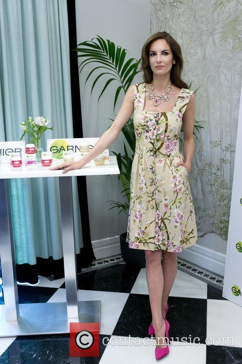 Eugenia Silva at the launch of new Garnier...