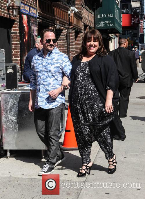 Melissa McCarthy visits the Late Show with David Letterman