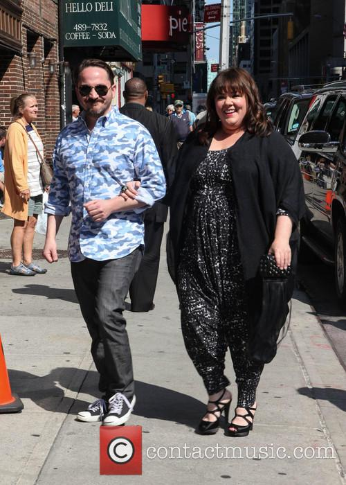 Melissa McCarthy visits the Late Show with David...