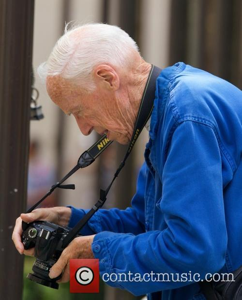 Bill Cunningham, fashion photographer for The New York...