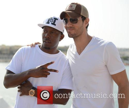 Dizzee Rascal and Enrique Iglesias 2