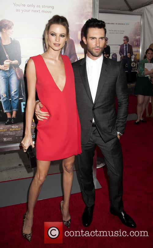 Behati Prinsloo and Adam Levine 1