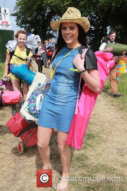 Glastonbury Festival and Atmosphere 3