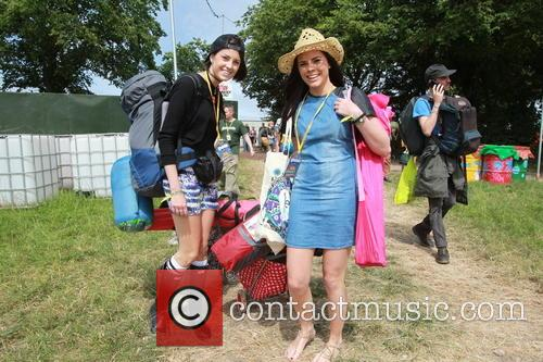 Glastonbury Festival and Atmosphere 5